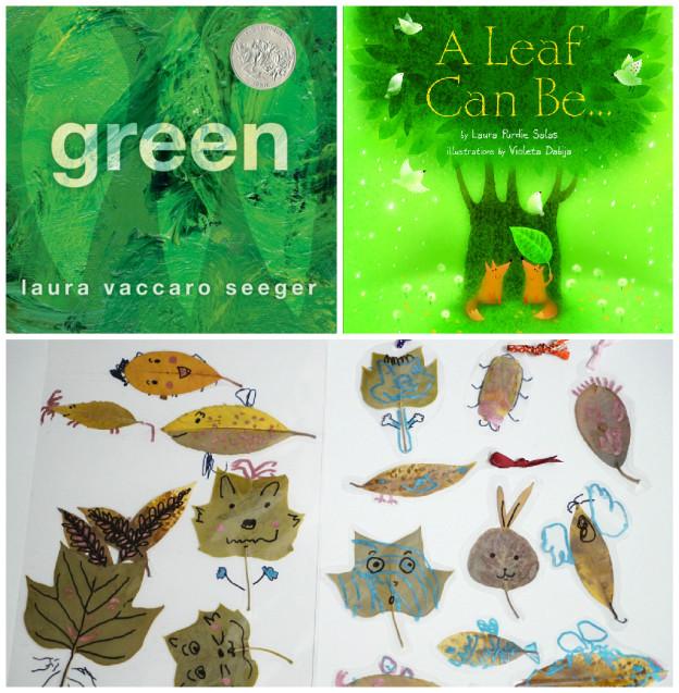 讀「綠」繪本,慶祝世界地球日